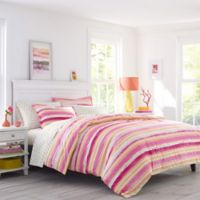 Poppy & Fritz® Alex Full/Queen Duvet Set in Pink