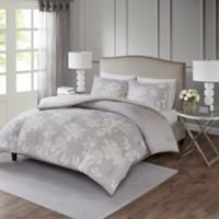 Madison Park Marian Full/Queen Comforter Set in Grey