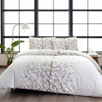 Marimekko® Lumimarja Full/Queen Comforter Set in Medium Grey