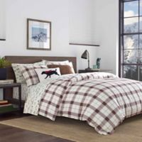 Eddie Bauer® Riverdale Plaid Red Twin Comforter Set