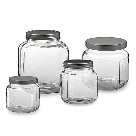 Anchor Hocking 174 Glass Cracker Jar Bed Bath Amp Beyond