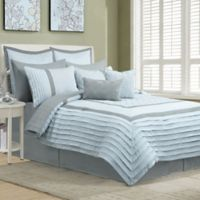 Chantelle 12-Piece King Comforter Set in Blue