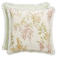 Piper & Wright Wynona 20-Inch Square Throw Pillow in Ivory
