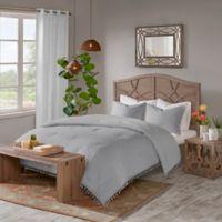 Madison Park Lillian Full/Queen Comforter Set in Grey