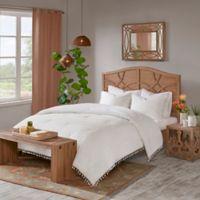 Madison Park Lillian Full/Queen Comforter Set in White