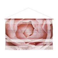 Deny Designs 32-Inch x 47-Inch Happee Monkee Rose Wall Art