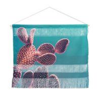 Deny Designs Emanuela Carratoni Cactus Landscape 16-Inch x 22-Inch Wall Hanging