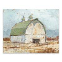 Whitewashed Barn III 22-Inch x 28-Inch Canvas Wall Art