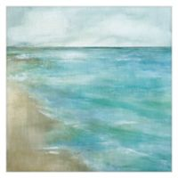 Gentle Tides 24-Inch Square Canvas Wall Art