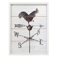 Rev Box with Plank Weather Vane Print Wall Art