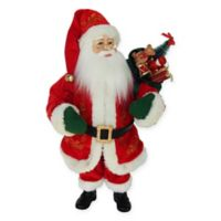 18-Inch Kringle Klaus LED Santa Christmas Tabletop Decor
