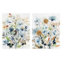 Holland Spring Mix I & II 18-Inch x 24-Inch Canvas Wall Art (Set of 2)