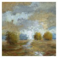 Lush Meadow I 30-Inch Square Canvas Wall Art