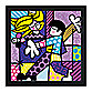 Britto™ Love at First Sight Framed Wall Art