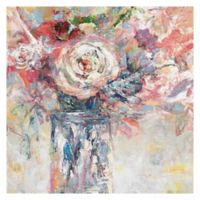 Bright Flower 24-Inch Square Canvas Wall Art