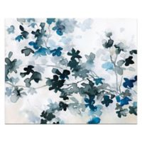 Blue Cherry Blossoms 36-Inch x 24-Inch Canvas Wall Art