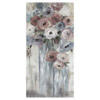 Bottles & Blooms Soft 24-Inch x 48-Inch Canvas Wall Art
