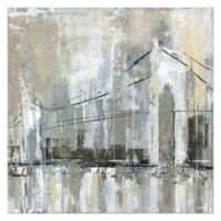 Midtown Bridge I 35-Inch Square Canvas Wall Art
