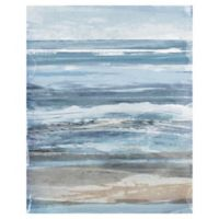 Watercolor Coastal 40-Inch x 30-Inch Canvas Wall Art