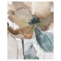 Watercolor Poppy I 36-Inch x 24-Inch Canvas Wall Art
