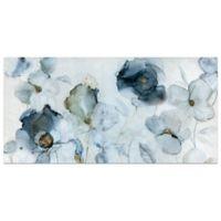 Carol Robinson Flowering Indigo 48-Inch x 24-Inch Canvas Wall Art