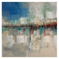 Ruane Manning Shoreline Reflection 35-Inch Canvas Wall Art