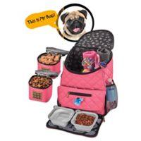 Overland Dog Gear Weekender Backpack in Pink
