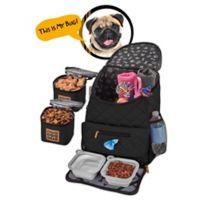 Overland Dog Gear Weekender Backpack in Black