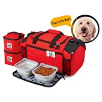 Overland Gear Ultimate Dog Travel Duffle Bag in Red
