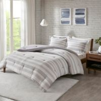 Urban Habitat Cole Jersey Knit 3-Piece Full/Queen Duvet Cover Set in Grey