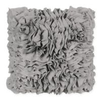 Bloomingdale Square Throw Pillow in Grey