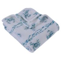 Berkshire Blanket® Cozy Crab Throw Blanket in Blue/Pink
