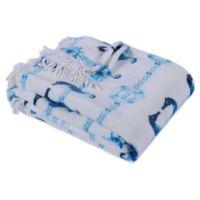 Berkshire Blanket & Home Co.® Maritime Stripe Throw Blanket in Seaside