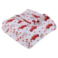 Berkshire Blanket® Pumpkin Throw Blanket in Orange/White