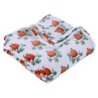Berkshire Blanket® Pumpkin Vine Throw Blanket in Orange/White