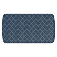 "GelPro® 20"" x 36"" Lattice Elite Anti-Fatigue Kitchen Mat in Denim"