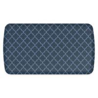 GelPro® Elite Decorator Lattice 20-Inch x 36-Inch Kitchen Mat in Dark Denim