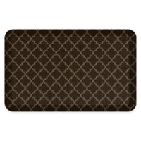 "GelPro® 20"" x 32"" Lattice Elite Anti-Fatigue Kitchen Mat in Java"