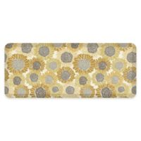 "GelPro® 20"" x 48"" Sunflower Elite Anti-Fatigue Kitchen Mat in Golden"