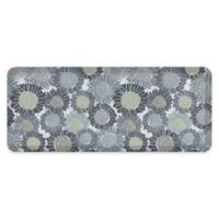 "GelPro® 20"" x 48"" Sunflower Anti-Fatigue Kitchen Mat in Moody Blue"