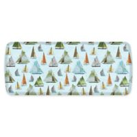 "GelPro® 20"" x 48"" Sailboat Elite Anti-Fatigue Kitchen Mat in Sky Blue"