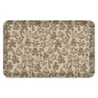 "GelPro® 20"" x 32"" Gingerbread Anti-Fatigue Kitchen Mat in Café"