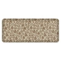 "GelPro® 20"" x 48"" Gingerbread Anti-Fatigue Kitchen Mat in Café"