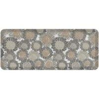 "NewLife® by GelPro® Sunflowers 20"" x 48"" Designer Comfort Mat in Smokey Taupe"