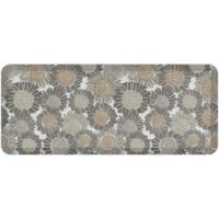 "NewLife® by GelPro® Sunflowers 20"" x 48"" Designer Comfort Mat in Smokey Taupe"