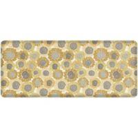 "NewLife® by GelPro® Sunflowers 30"" x 72"" Designer Comfort Mat in Golden"