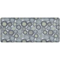 """NewLife® by GelPro® Sunflowers 30"""" x 72"""" Designer Comfort Mat in Moody Blue"""