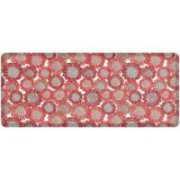 "NewLife® by GelPro® Sunflowers 30"" x 72"" Designer Comfort Mat in Ripe Cherry"