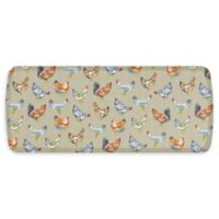 "GelPro® Elite Comfort 48"" x 20"" Chicken Run Floor Mat in Warm Stone"