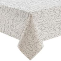 Marble Print 60-Inch x 120-Inch Oblong Tablecloth